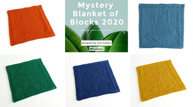 ohlalana mystery knit a long blanket of blocks